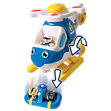Buy WOW Toys Oscar Police Copter Online at johnlewis.com