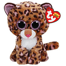 Buy Ty Beanie Boos Patches Leopard Soft Toy, 16cm Online at johnlewis.com