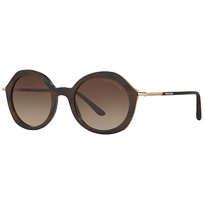 Giorgio Armani AR8075 Frames of Life Round Sunglasses