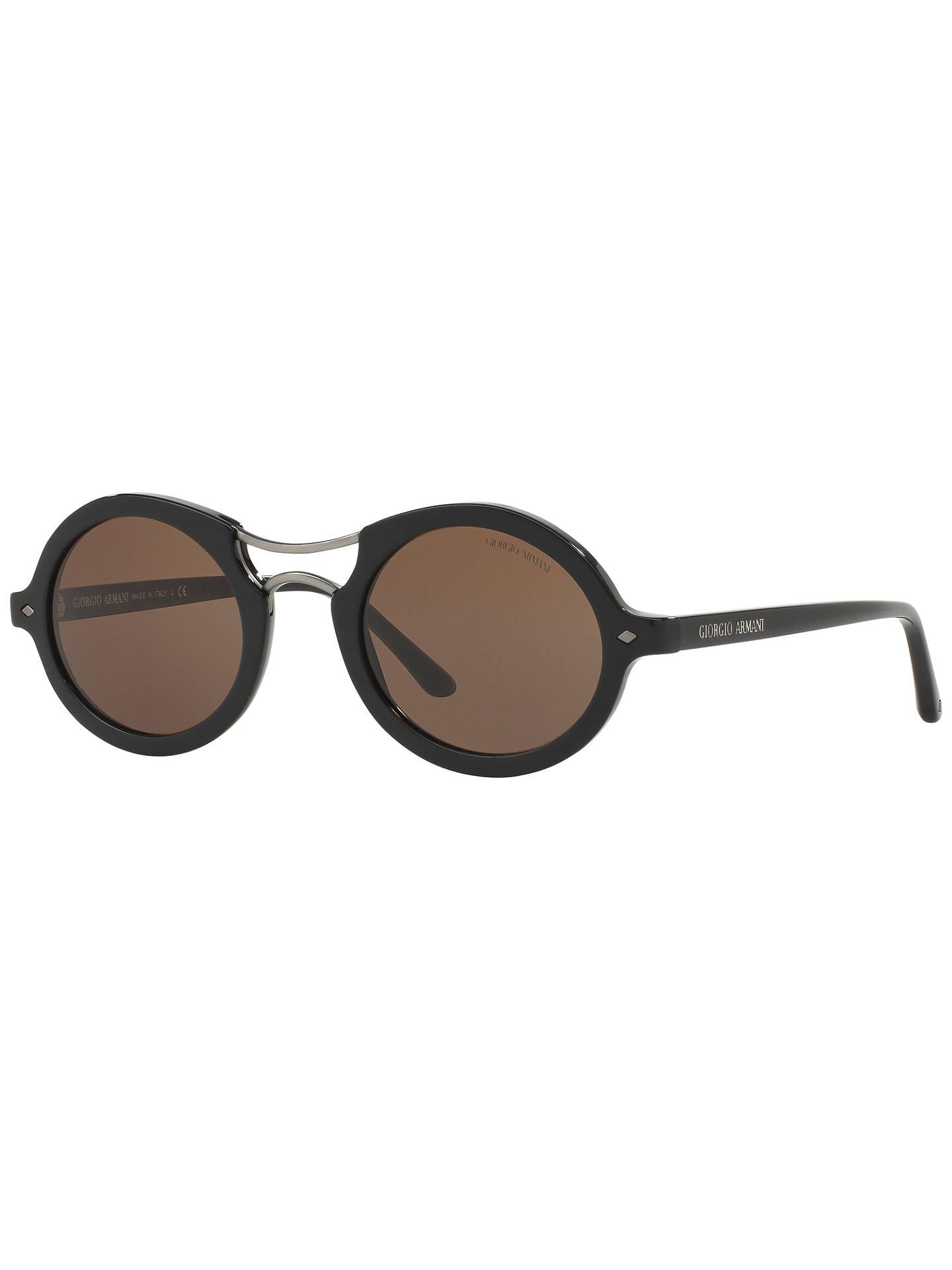 563531e3e281 Giorgio Armani AR8072 Frames of Life Round Sunglasses at John Lewis ...