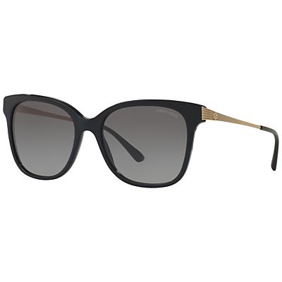 Giorgio Armani AR8074 Gradient Square Sunglasses, Black
