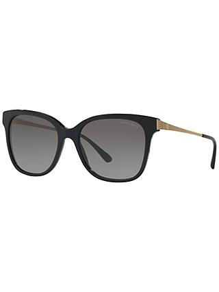 Giorgio Armani AR8074 Gradient Square Sunglasses, Black