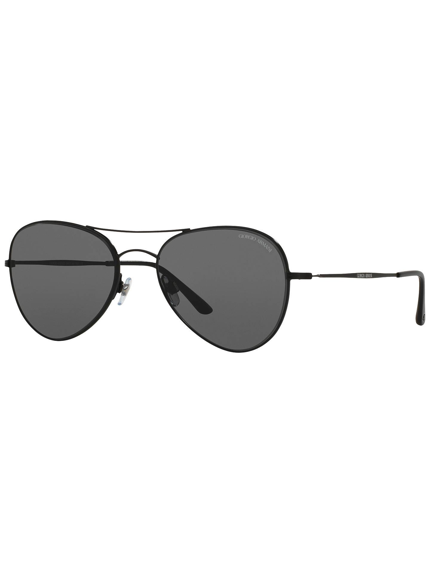 87c054c621c Giorgio Armani AR6035 Aviator Sunglasses at John Lewis   Partners
