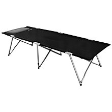 Buy Outwell Posadas Foldaway Single Camping Bed, Black Online at johnlewis.com