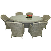 Buy Royalcraft Wentworth Imperial Oval 6-Seater Online at johnlewis.com