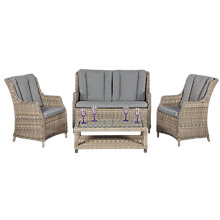 Buy Royalcraft Wentworth 4-Seater High Back Lounge Suite Online at johnlewis.com