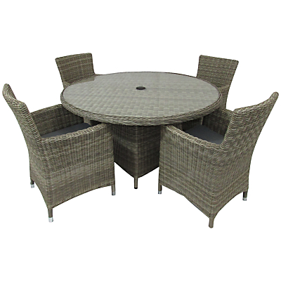 Royalcraft Wentworth Carver 4-Seat Dining Set