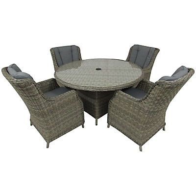 Royalcraft Wentworth 4-Seater Comfort Dining Set