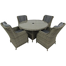 Buy Royalcraft Wentworth 4-Seater Comfort Dining Set Online at johnlewis.com
