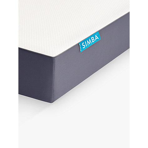 buy simba hybrid memory foam pocket spring mattress medium single online at johnlewis - Spring Mattress