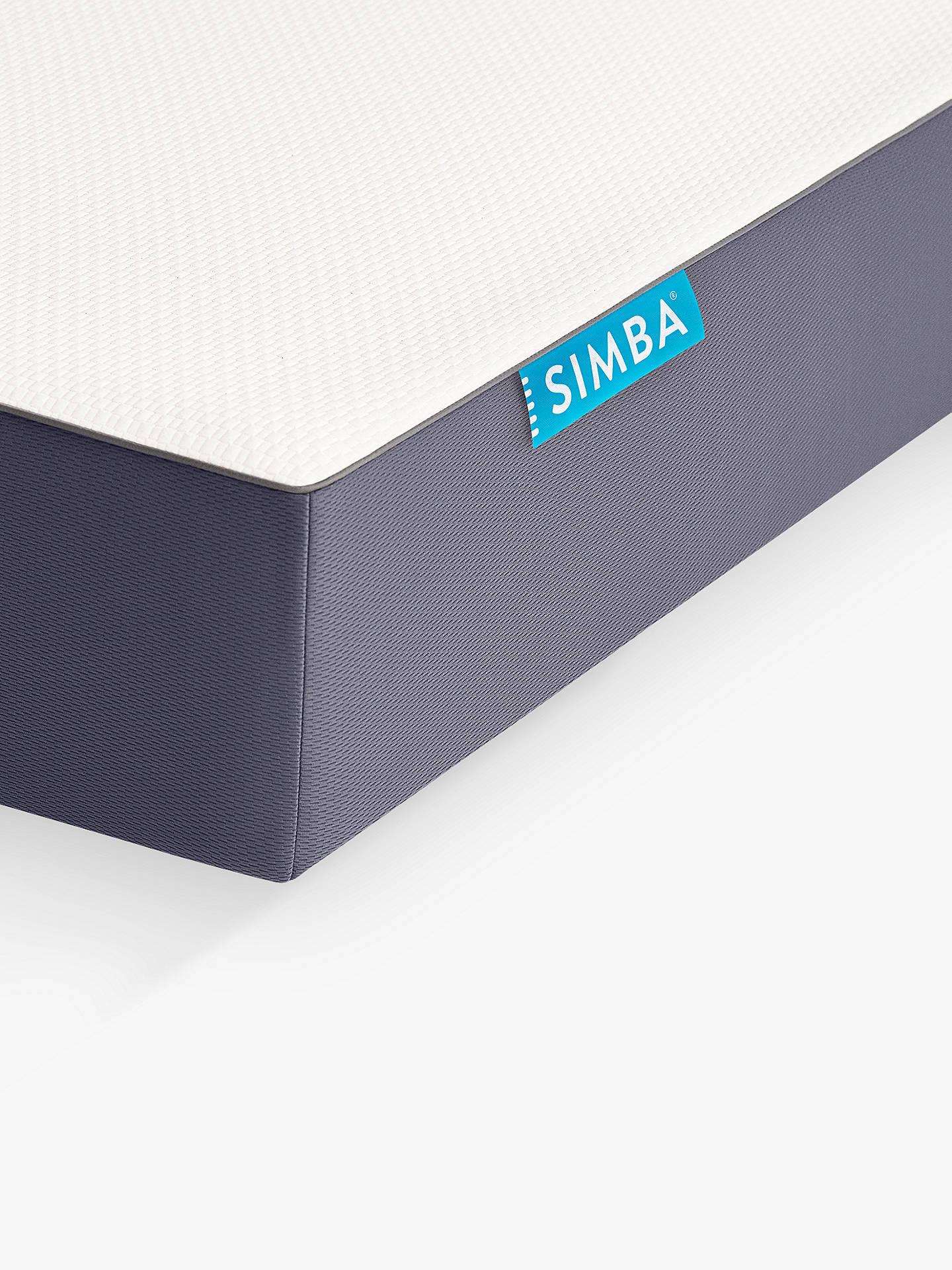simba hybrid memory foam pocket spring mattress medium tension king size at john lewis partners. Black Bedroom Furniture Sets. Home Design Ideas