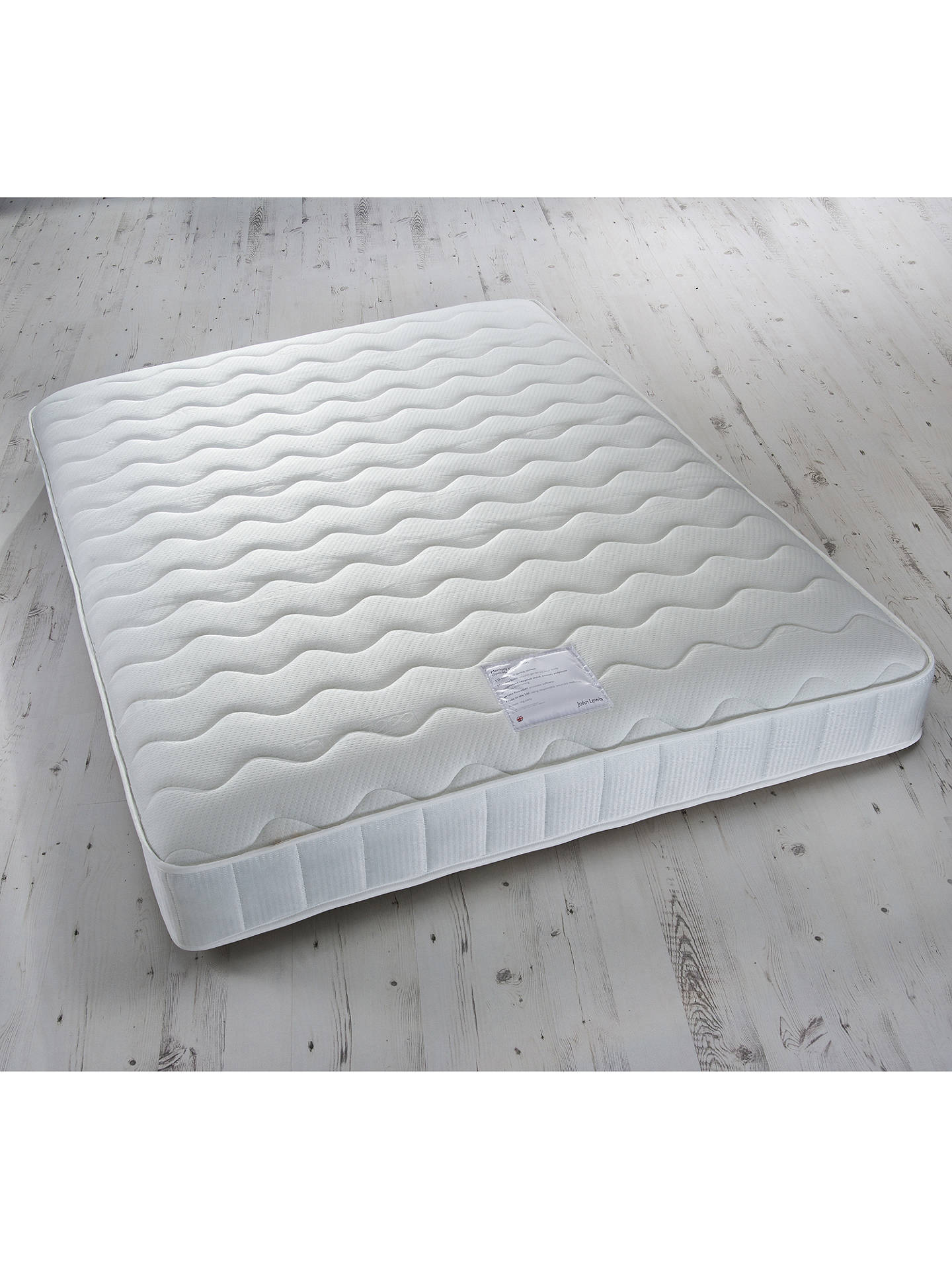 Buy John Lewis & Partners Memory Collection Open Spring Memory Foam Mattress, Medium, Double Online at johnlewis.com