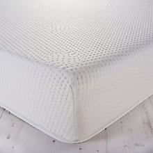 Buy John Lewis Memory Collection Contour Cool Support Memory Foam Mattress, Medium, Double Online at johnlewis.com