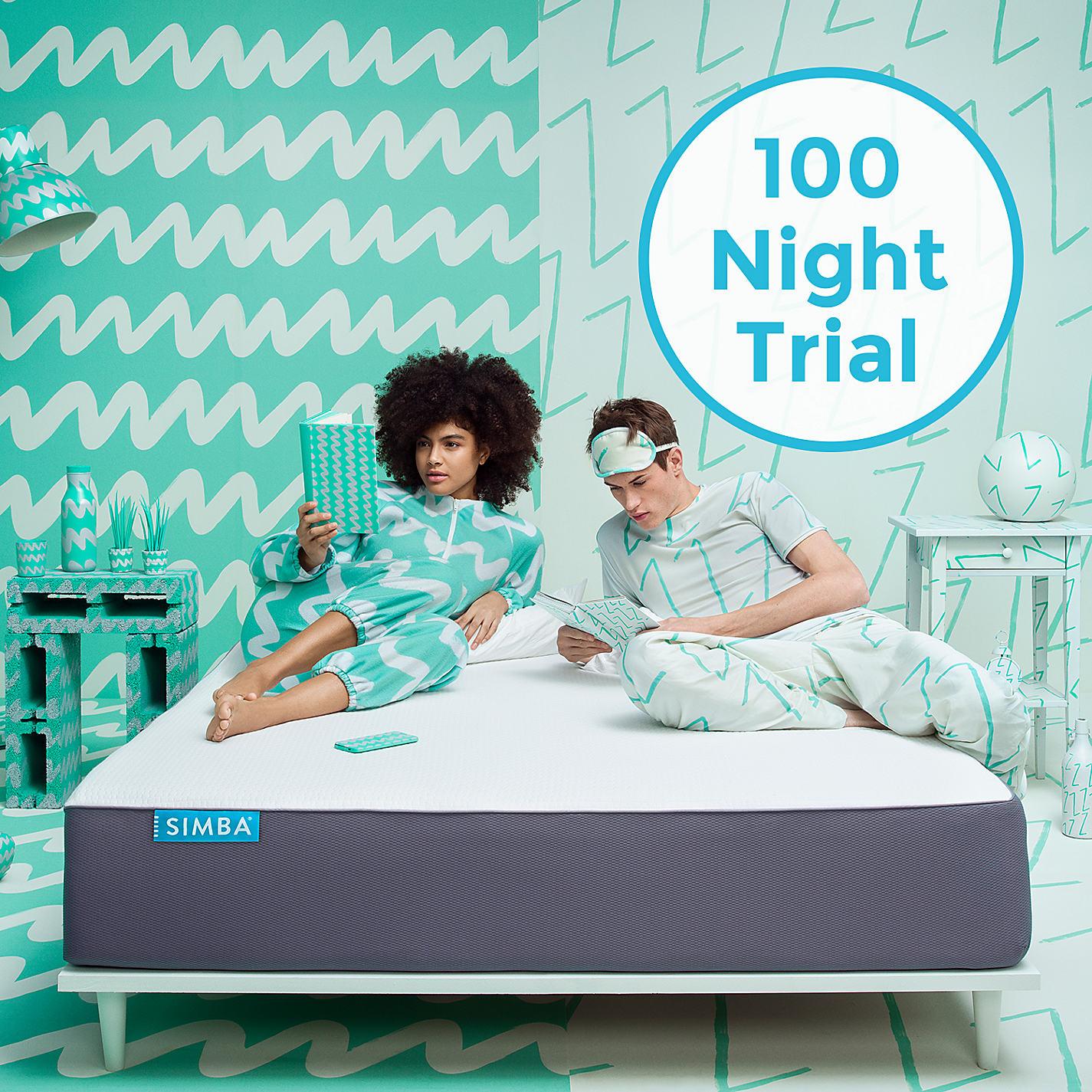 buy simba hybrid memory foam pocket spring mattress medium double online at johnlewis - Spring Mattress