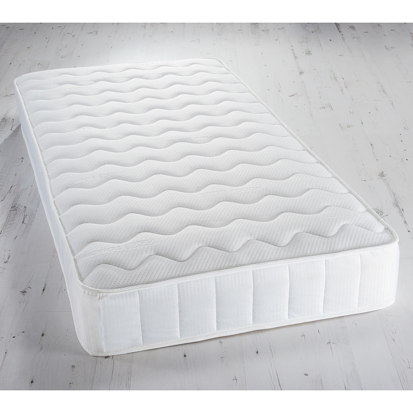 John Lewis Memory Collection Open Spring Foam Mattress Medium Single Online At