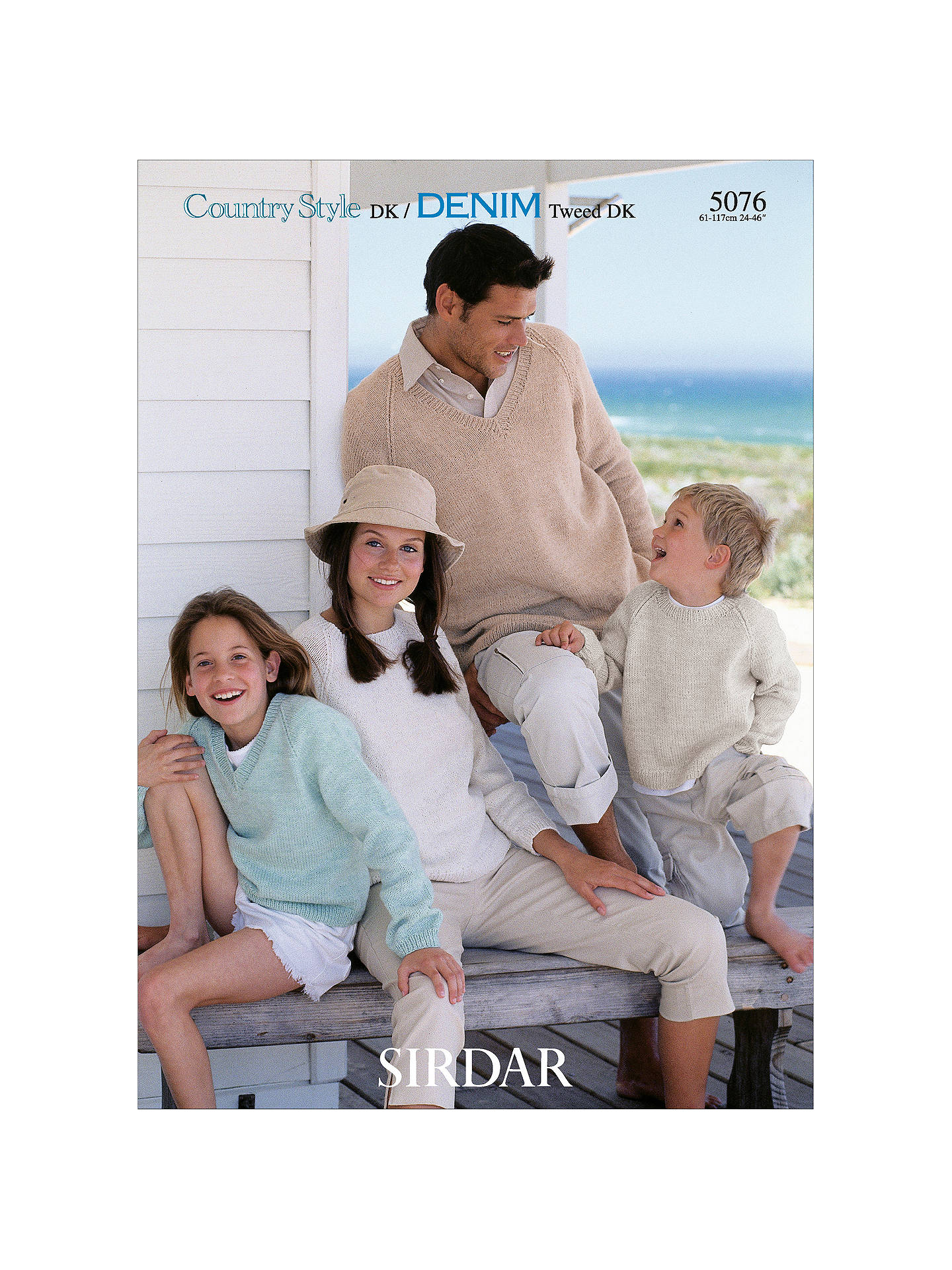 a0dafe13e Buy Sirdar Country Style DK Family Plain Jumper Knitting Pattern