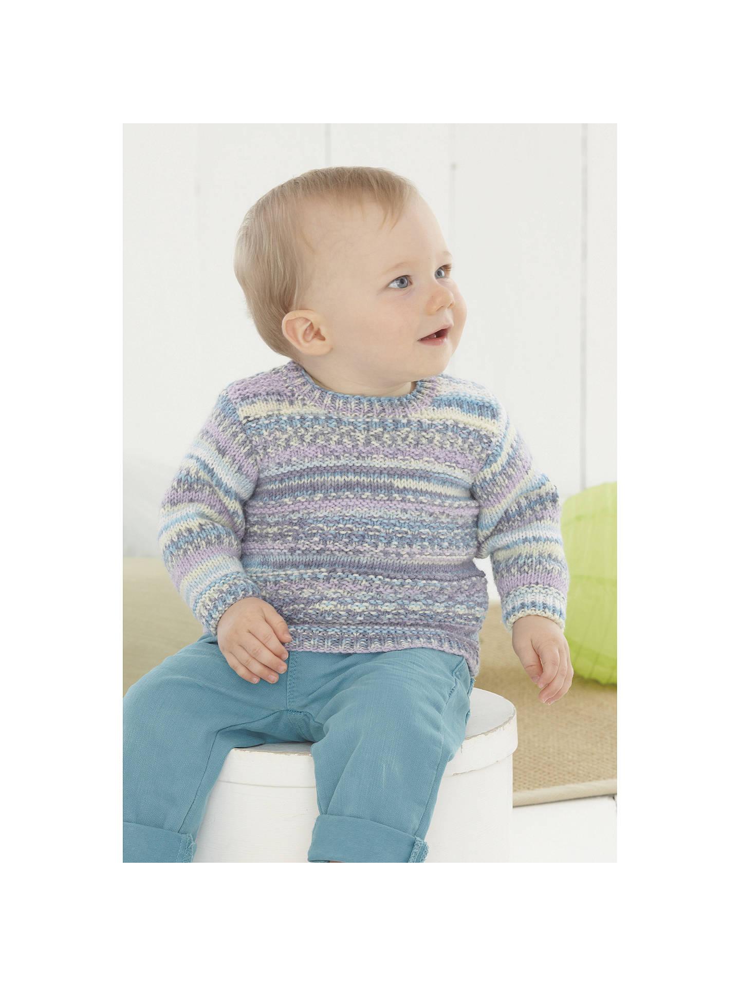 Sirdar Baby Crofter Fair Isle Friends Knitting Pattern Booklet 0496