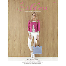 Buy Sirdar Unisex Knitting Pattern Booklet, 0694 Online at johnlewis.com