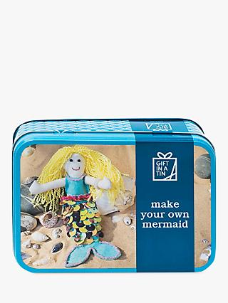 Apples to Pears Gift in a Tin Make Your Own Mermaid Craft Kit  Multi