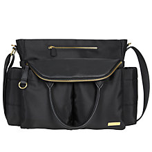 Buy Skip Hop Chelsea Chic Satchel Changing Bag, Black Online at johnlewis.com