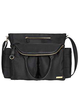 Skip Hop Chelsea Chic Satchel Changing Bag, Black