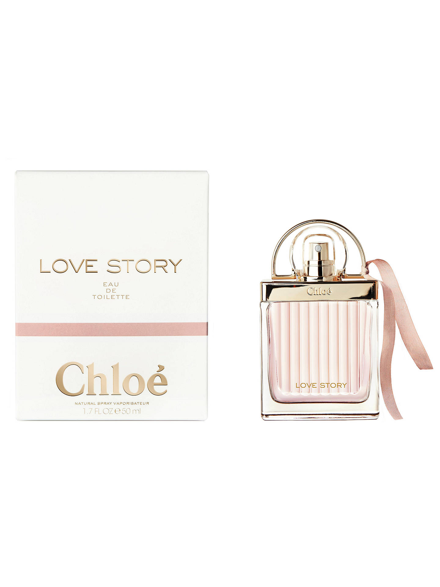 BuyChloé Love Story Eau de Toilette, 30ml Online at johnlewis.com