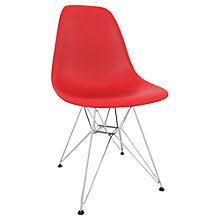 Buy Vitra Eames DSR 43cm Side Chair Online at johnlewis.com