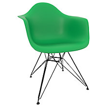 Buy Vitra Eames DAR 43cm Armchair Online at johnlewis.com