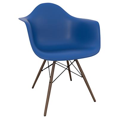 Vitra Eames DAW Armchair, Dark Maple Leg