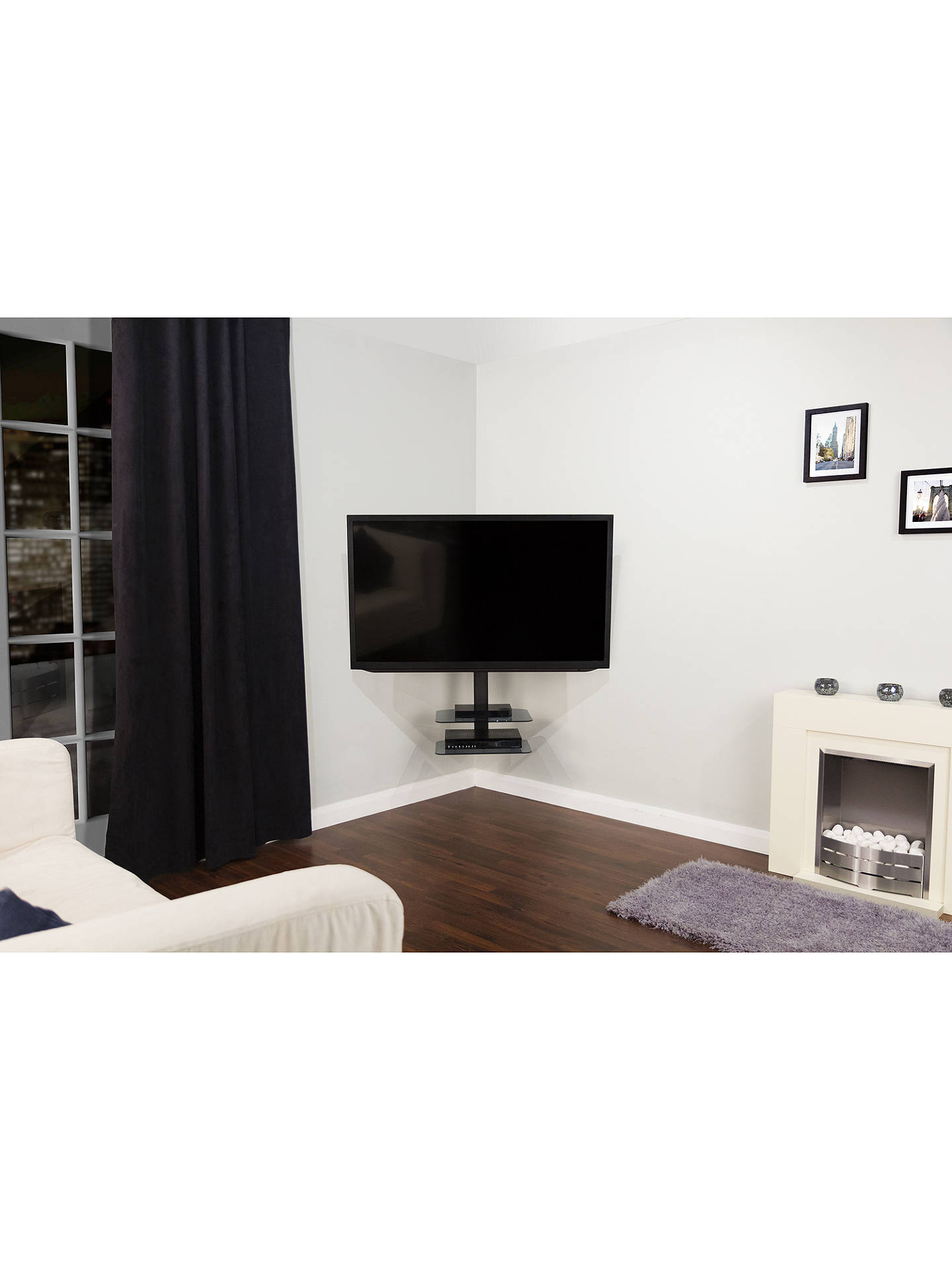Avf Zsl5502 Multi Position Corner Wall Mount For Tvs From 32 70 At