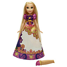Buy Disney Princess Rapunzel Story Skirt Doll Online at johnlewis.com