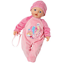Buy Zapf My Little Baby Born Super Soft Doll Online at johnlewis.com