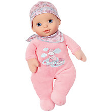 Buy Zapf My First Baby Annabell Newborn Doll Online at johnlewis.com
