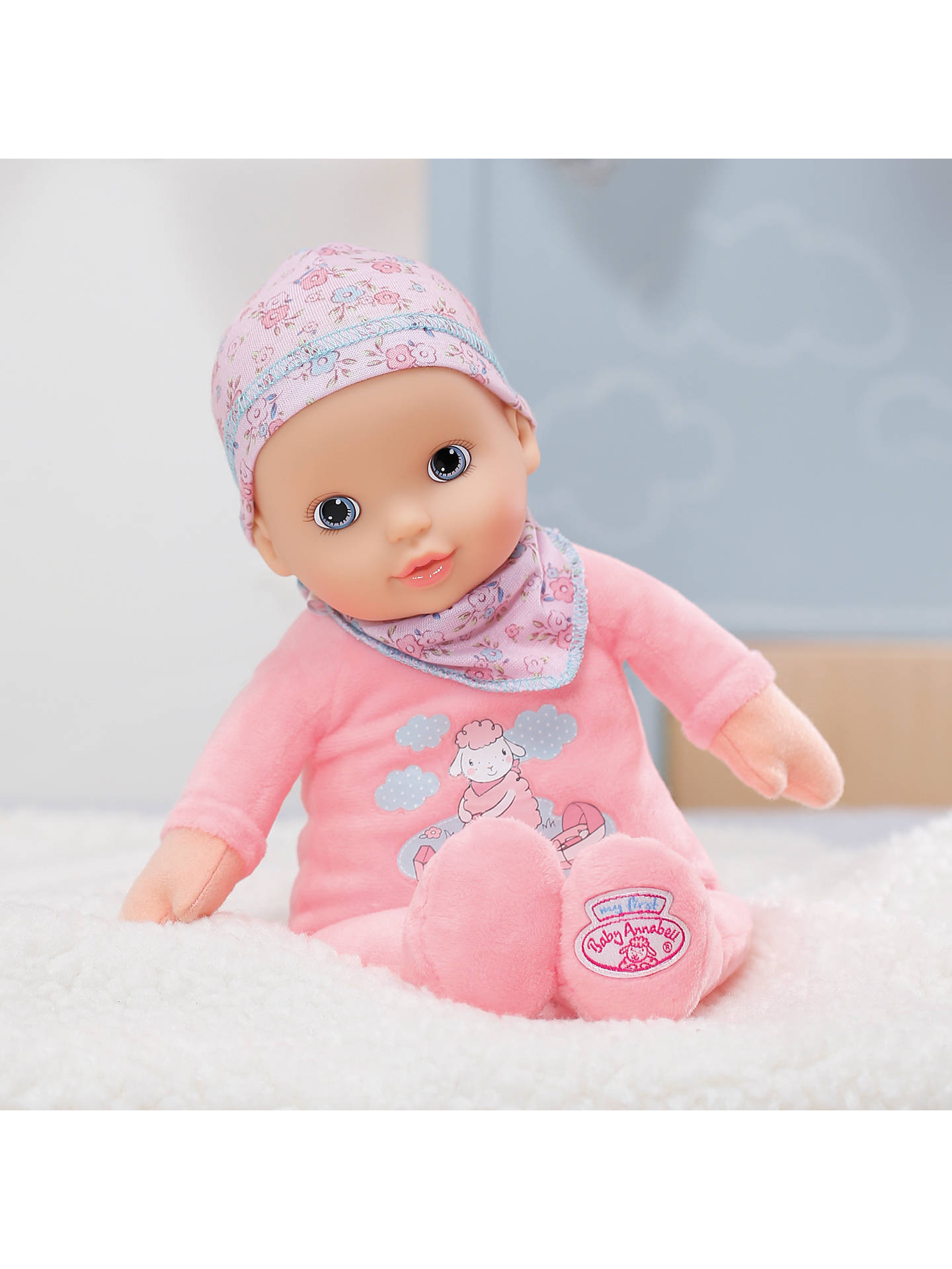Zapf My First Baby Annabell Newborn Doll At John Lewis
