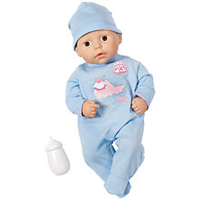 Buy Zapf My First Baby Annabell Brother Doll Online at johnlewis.com
