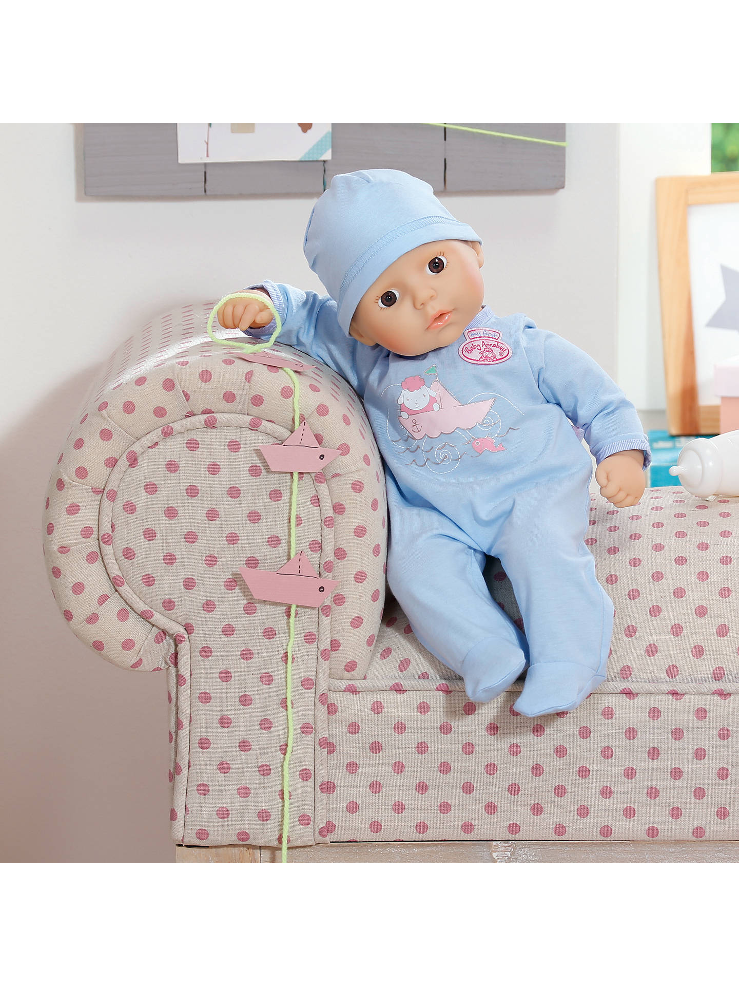 Zapf My First Baby Annabell Brother Doll At John Lewis