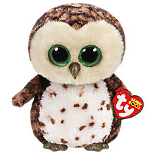 Buy Ty Beanie Boos Sammy Owl Soft Toy, 24cm Online at johnlewis.com