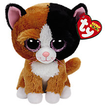 Buy Ty Beanie Boo Tauri Cat Soft Toy, 16cm Online at johnlewis.com