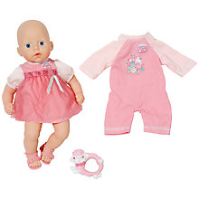 Buy Zapf My First Baby Annabell Rose Set Doll Online at johnlewis.com