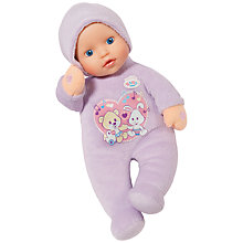 Buy Zapf My Little Baby Born Hold My Hand Doll Online at johnlewis.com