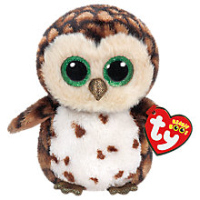 Buy Ty Beanie Boos Sammy Owl Soft Toy, 16cm Online at johnlewis.com