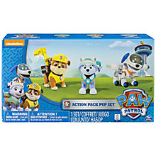 Buy Paw Patrol Action Pack Pup Set Online at johnlewis.com