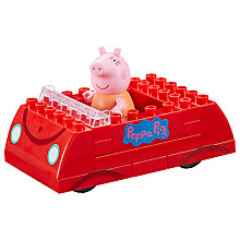 Buy Peppa Pig Family Car Construction Set Online at johnlewis.com