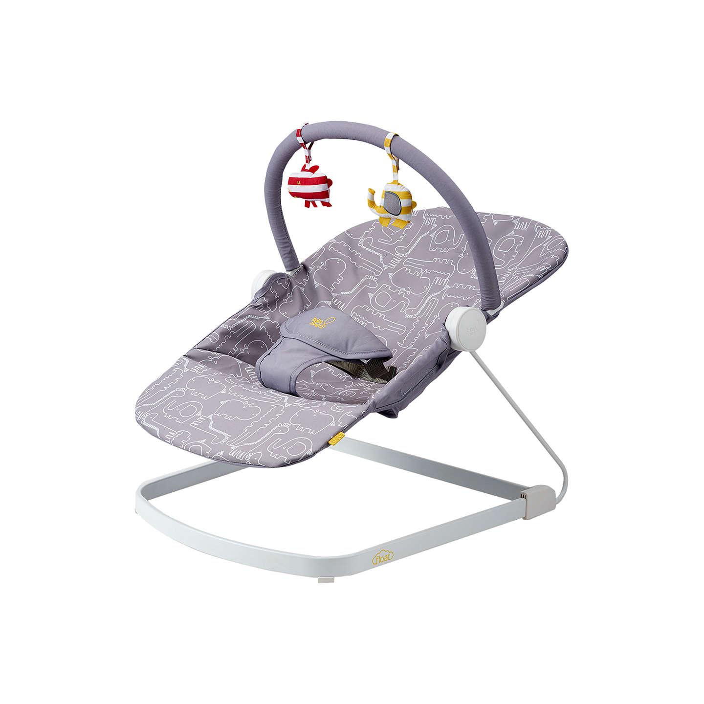 bababing float baby bouncer grey at john lewis
