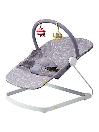 BabaBing! Float Baby Bouncer, Grey