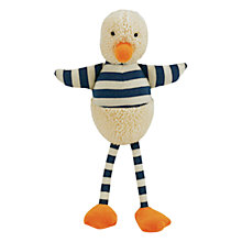 Buy Jellycat Bredita Duck Chime, One Size, Blue/Cream Online at johnlewis.com