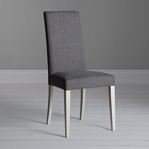 Buy John Lewis Alba Lydia Dining Chair Soft Grey John Lewis