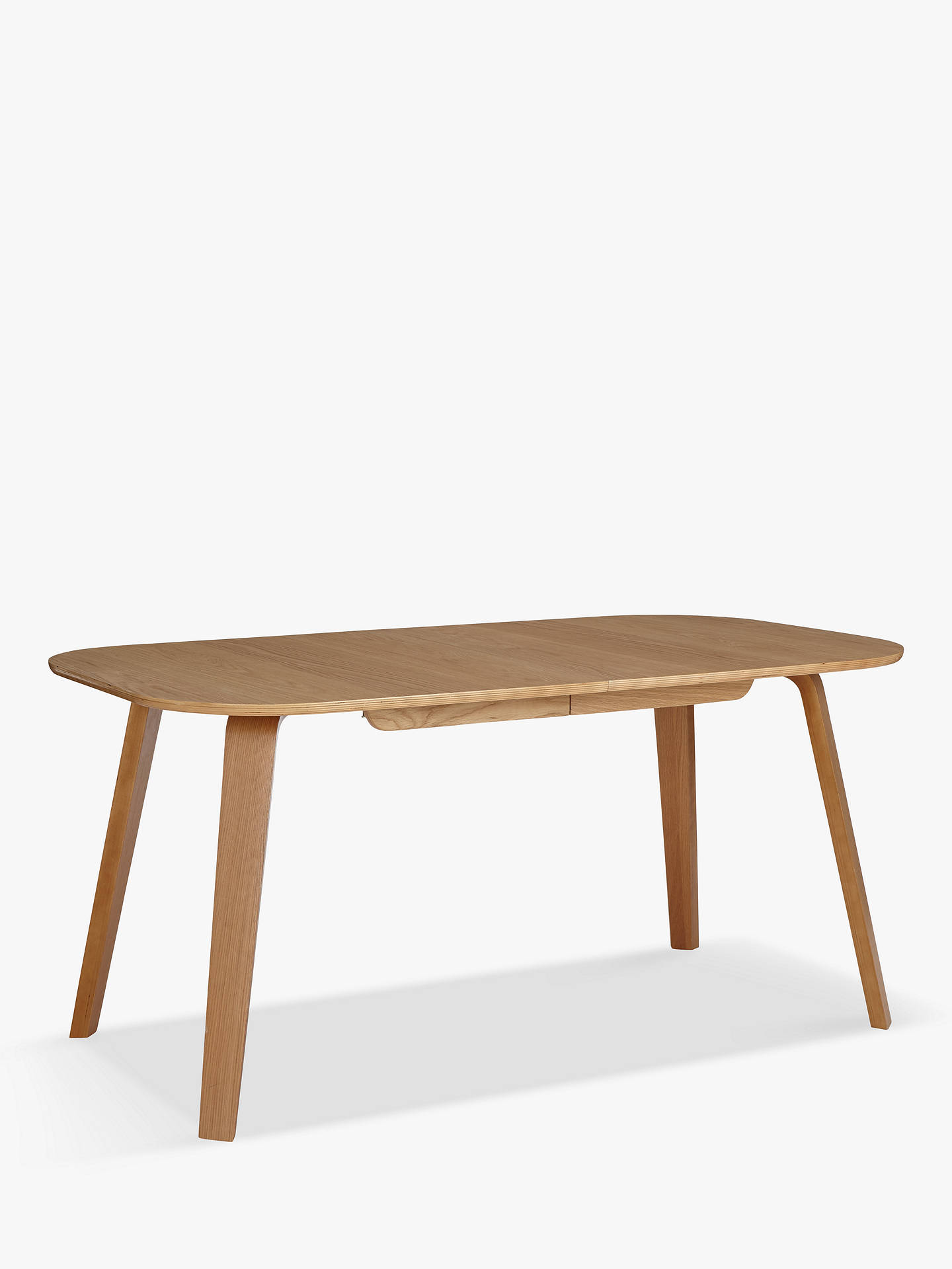 Buy House by John Lewis Anton 6-8 Extending Dining Table, Oak Online at johnlewis.com