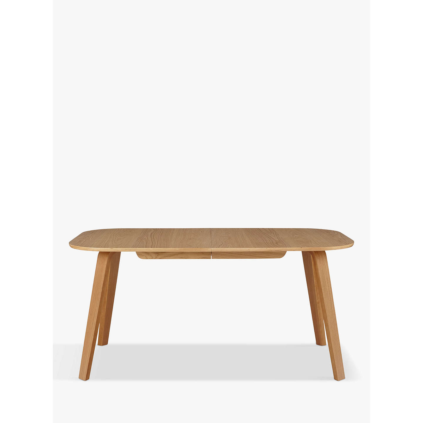 BuyHouse by John Lewis Anton Extending Dining Table, Oak Online at johnlewis.com