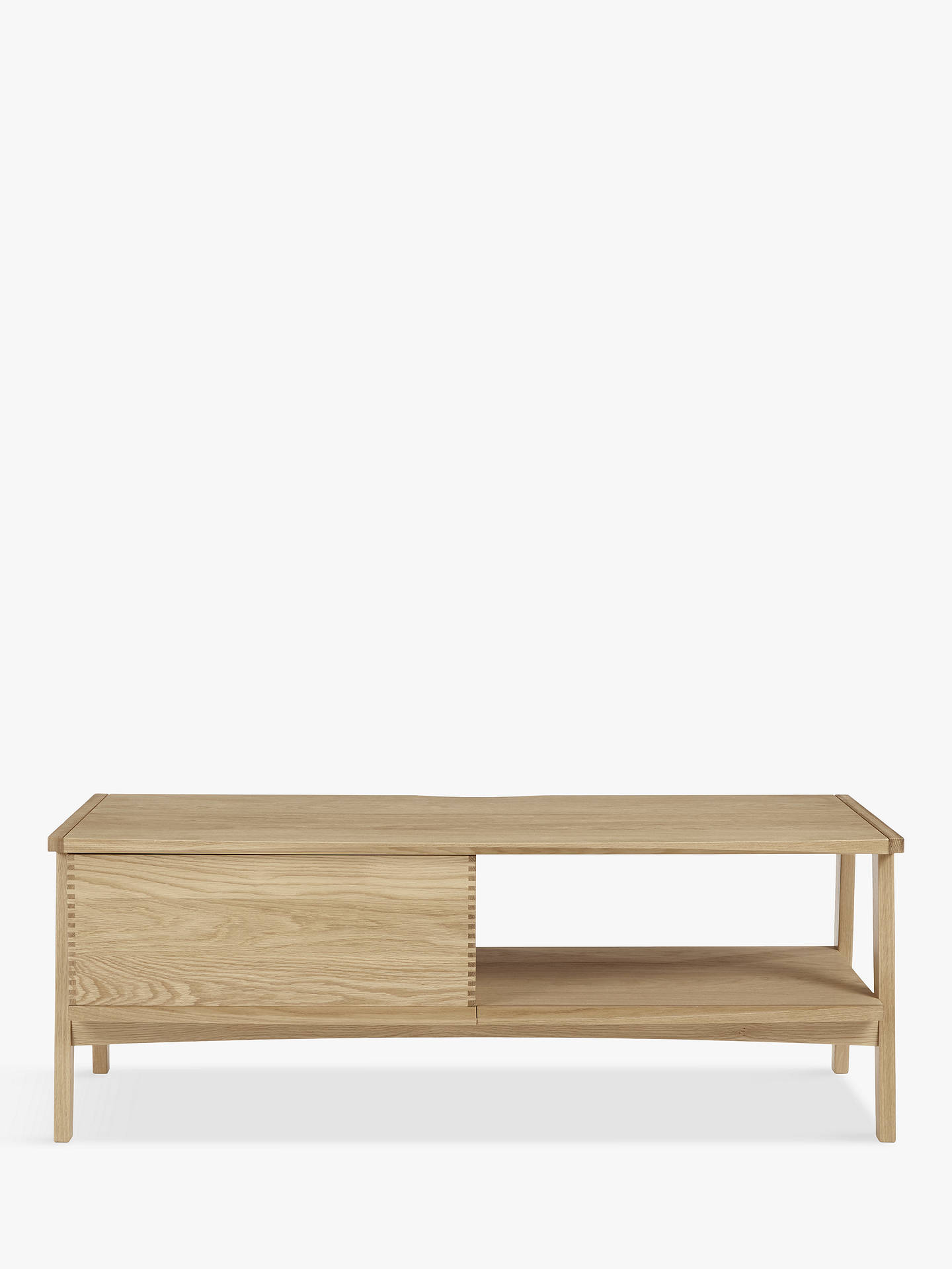 "Buy John Lewis & Partners Duhrer TV Stand for TVs up to 60"", Oak Online at johnlewis.com"